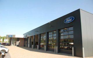 Uitbreiding Ford Garage, Heerhugowaard